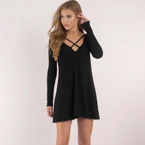 Tobi Dresses & Skirts - Tobi Swing Dress (Black)
